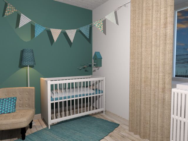 Beautiful decoration turquoise chambre bebe gallery - Deco chambre turquoise ...