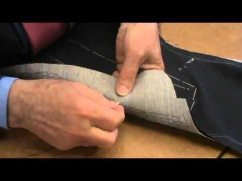 Sartoria Perrera (lavorazione giacca N.7 - YouTube