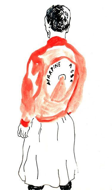 Martine Rose jacket by Cynthia Merhej