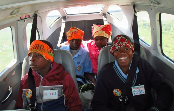Flight of the angels... Campers flying out after the 2013 Banoka Camp #Botswana