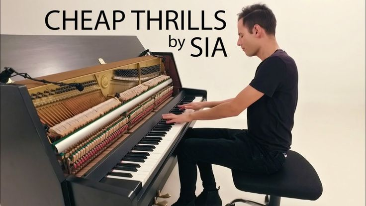 Sia - Cheap Thrills | Piano Cover - Peter Bence