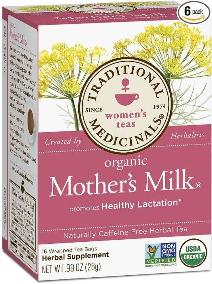 6 Breastfeeding Teas That Support Lactation and Increase Breast Milk