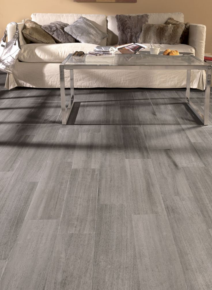 Carrelage imitation parquet pour sol int rieur lama for Carrelage gris interieur
