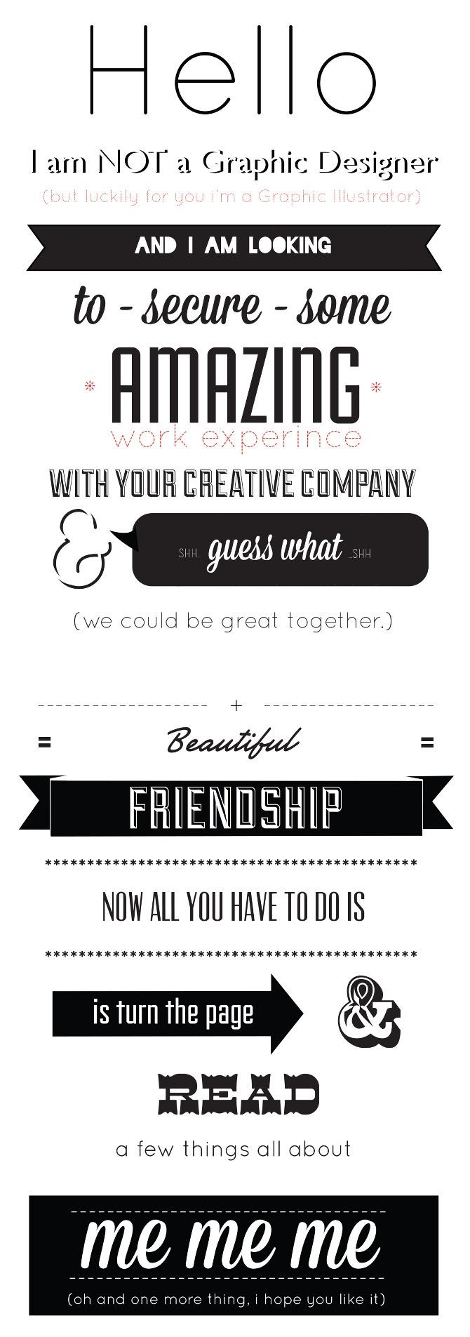 52 best Creative CVs images on Pinterest | Creative curriculum ...