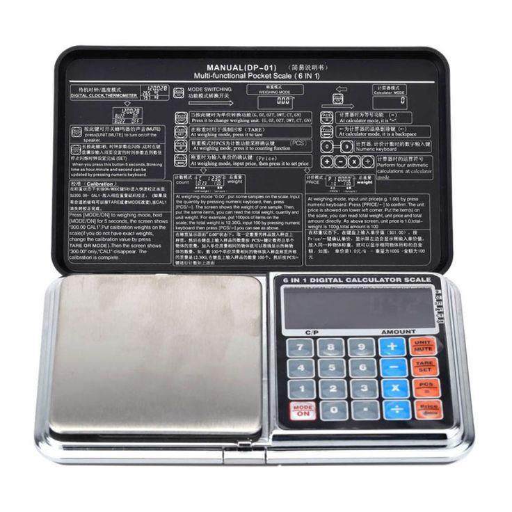 Digital Pocket Scale Black - Free + Shipping