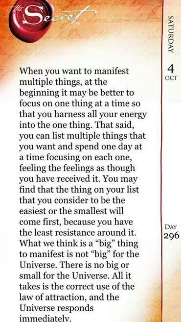 Quotes about Success : Focus on one thing at a time. Size of what you're asking for doesn't mat