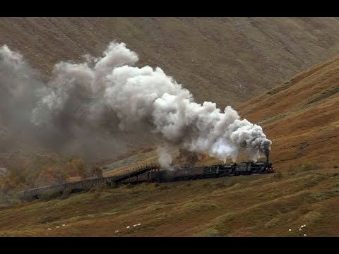 44871 & 45407 Charge Through Abergavenny - Cathedrals Express - YouTube - 7 mins 48 secs