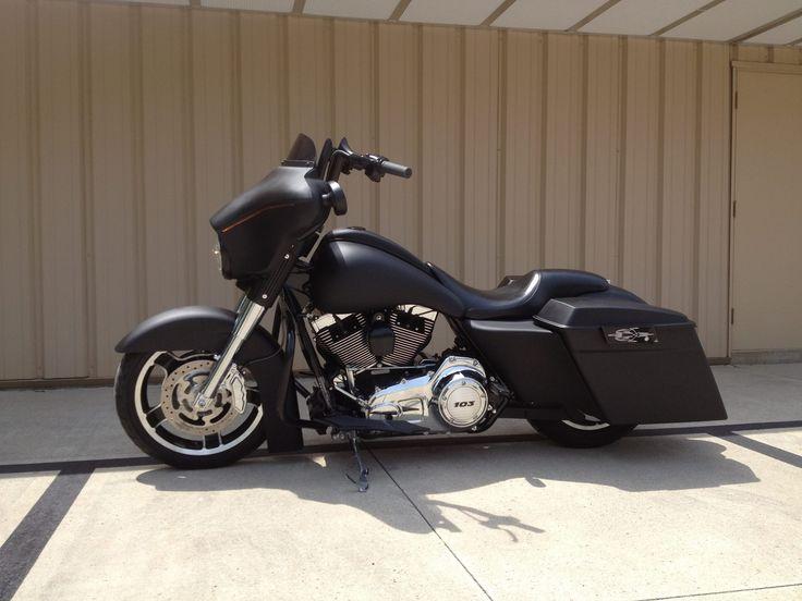 Black Denim Street Glide | Harley Davidson | Pinterest ...