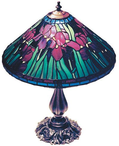 Tiffany Lamps | Galloway Residence Tiffany Style Lamp