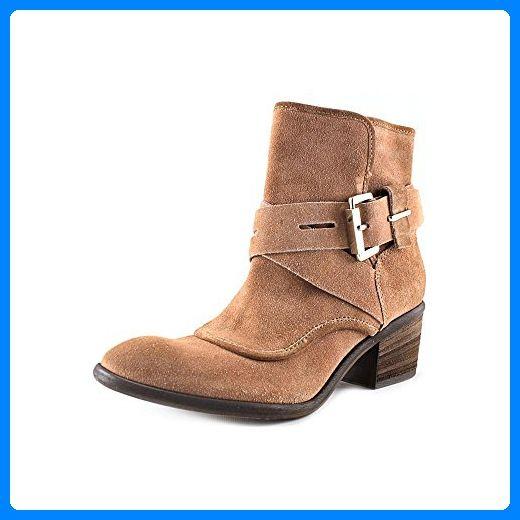 Donald J Pliner Diem Damen Braun Rund Mode-Stiefeletten Neu/Display EU 38,5 - Stiefel für frauen (*Partner-Link)