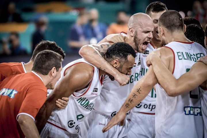 Hungary's national team have won their first Eurobasket game in 48 YEARS!  Adam Hanga with 31 points 8 rebounds 8 assists and 6/9 3 pointers.   Congratulations Hungary!  -Riol13