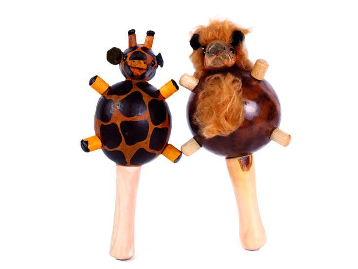 Maracas Animales Infantiles - Catálogo de Productos - Artesanías de Colombia