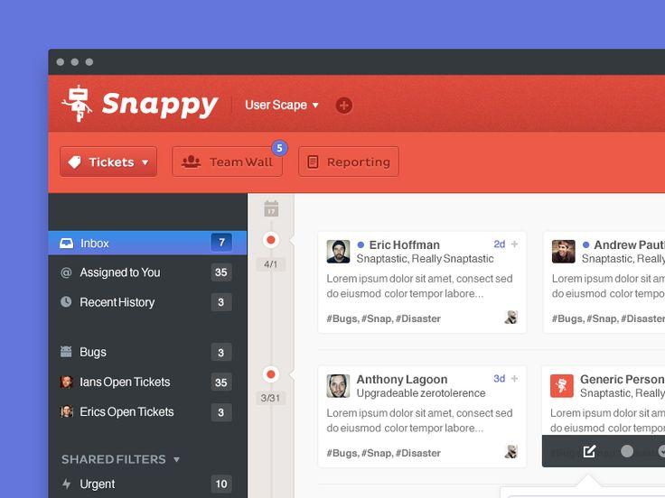 Snappy UI by Charlie Waite