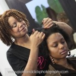 Tamika Fletcher, co-owner of Natural Resources Salon in Houston, TX.  Gorgeous!!