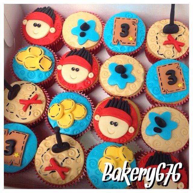 Jake y los piratas de nunca jamás cupcakes / jake and the neverland pirates Bakery 676