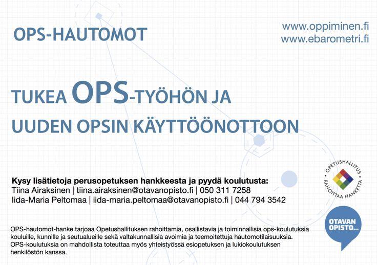 OPS -hautomot ja ebarometri.fi
