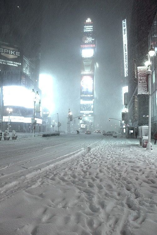 New York CityWinter Snow, Time Squares, Snowy Time, New York Cities, Times Square, Winter Wonderland, Wintersnow, Places, Newyork
