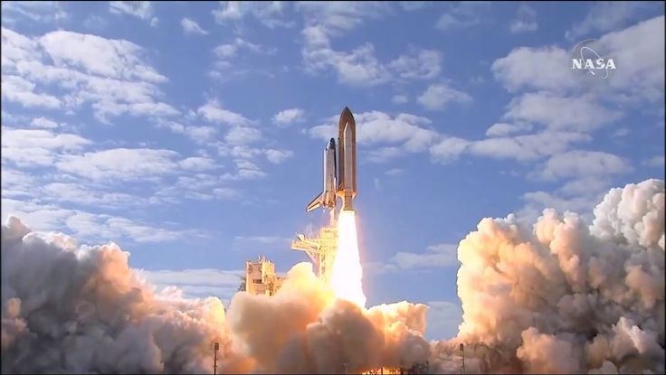 Space Shuttle Launch NASA Atlantis to the International Space Station