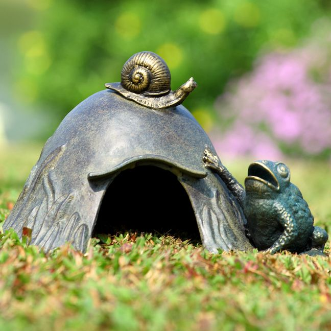 20 Best Frog Houses Images On Pinterest Frog House Toad House And Fairies Garden