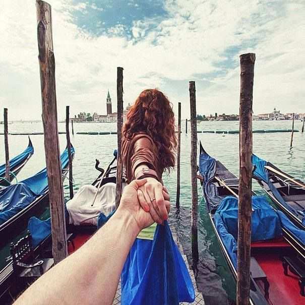 Best Activities Images On Pinterest Amazing Photography - Guy photographs his girlfriend as they travel the world