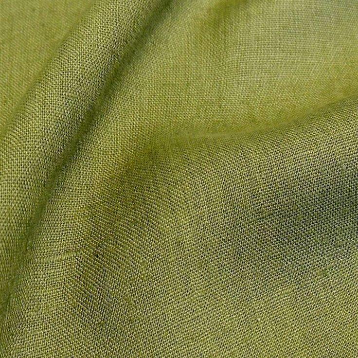 oliv grün Kleider-LEINEN Mittelalter Leinen-Stoff Meterware Leinen