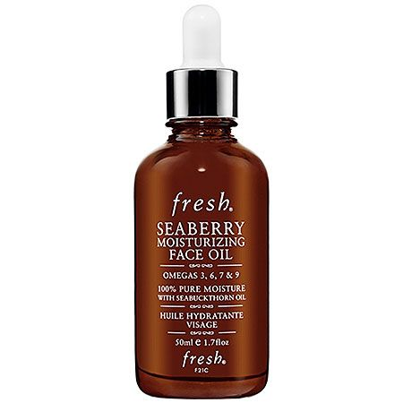 Start taking your omegas—start seeing mega results with this 100% pure omega-rich treatment oil from Fresh. It nourishes with 24-hour hydration and improves elasticity. #Sephora