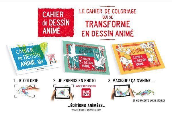 """Sortie demain du Cahier de Dessin Animé """"Les Fables de La Fontaine"""" @EditionsAnimees"""