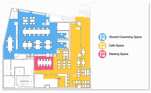 Coworking Floorplan Coworking Spaces Floorplans