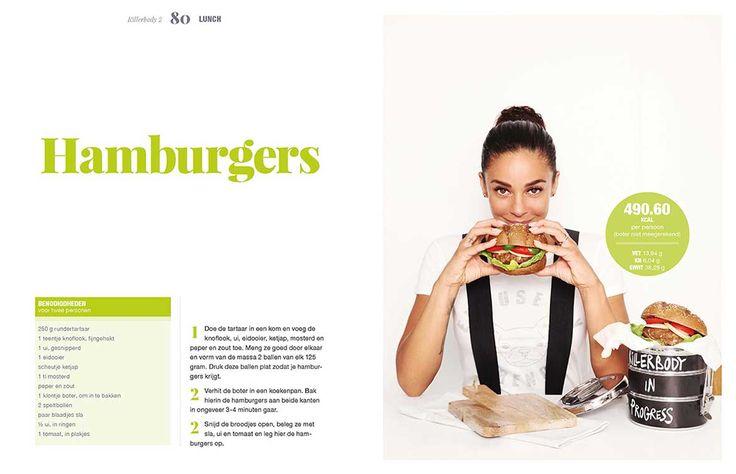Hamburgers van Fajah Lourens (Killerbody 2): een heerlijk lunchgerecht