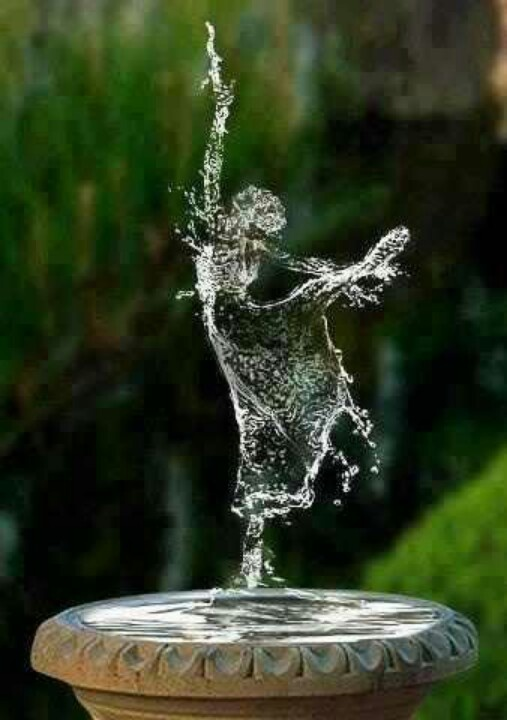 Dancing water spirit