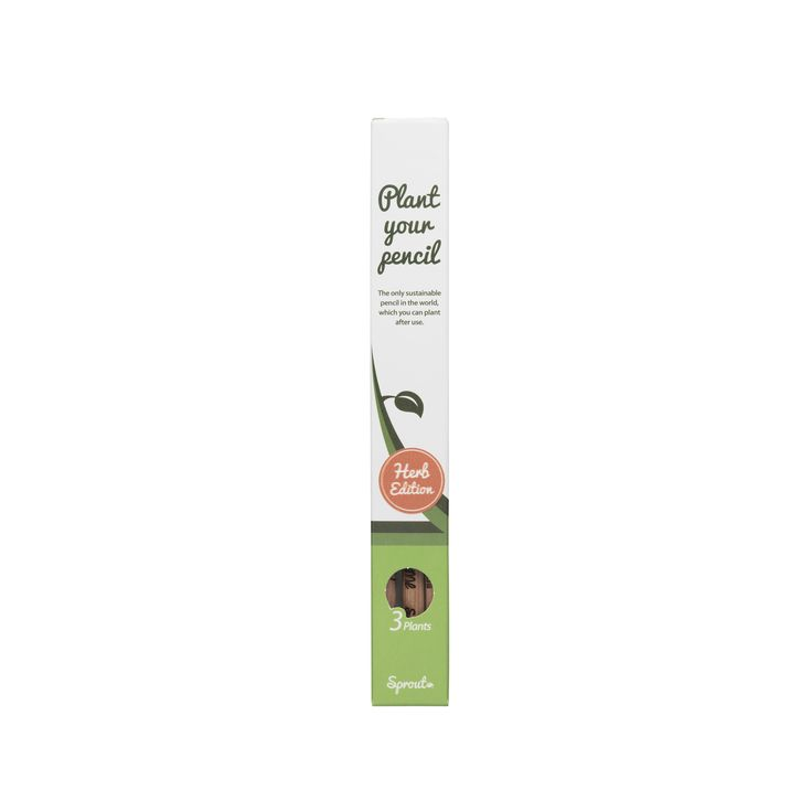 Sprout Pencil Herb Edition – 3 pack