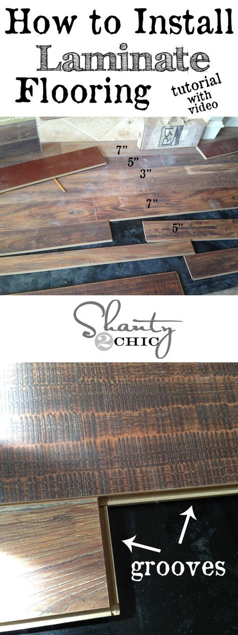 Best 25 laminate flooring fix ideas on pinterest installing step by step instruction to installing laminate flooring with a video looks easy solutioingenieria Image collections