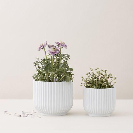 Wonderfull Flowerpots from Lyngby Porcelain