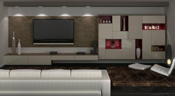 Sala De Debate Tv Futura ~ home theater planejado todeschini  Pesquisa Google  Todeschini