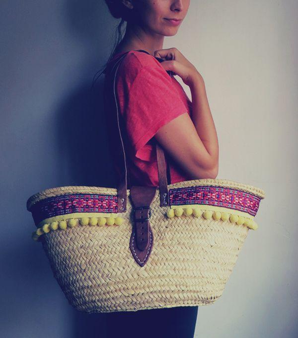 SOLD OUT- #Strawbag #boho #summer #essentials #beachbag -mimeyco-
