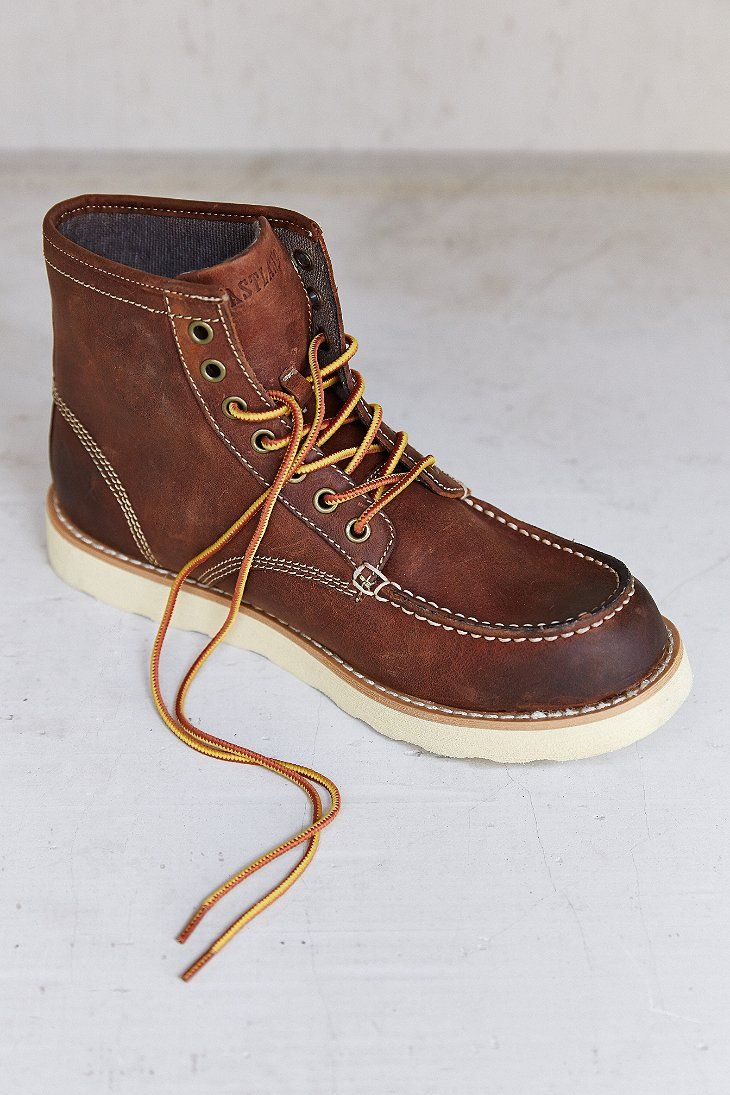 Eastland Lumber Up Moc-Toe Boot Just bought a pair of these and so far ·  Comfortable BootsMan ShoesCasual ShoesSchool StyleLeather ...