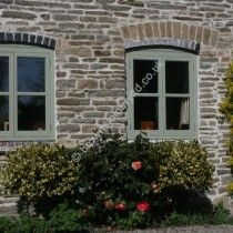 Painted Accoya Windows to Cottage