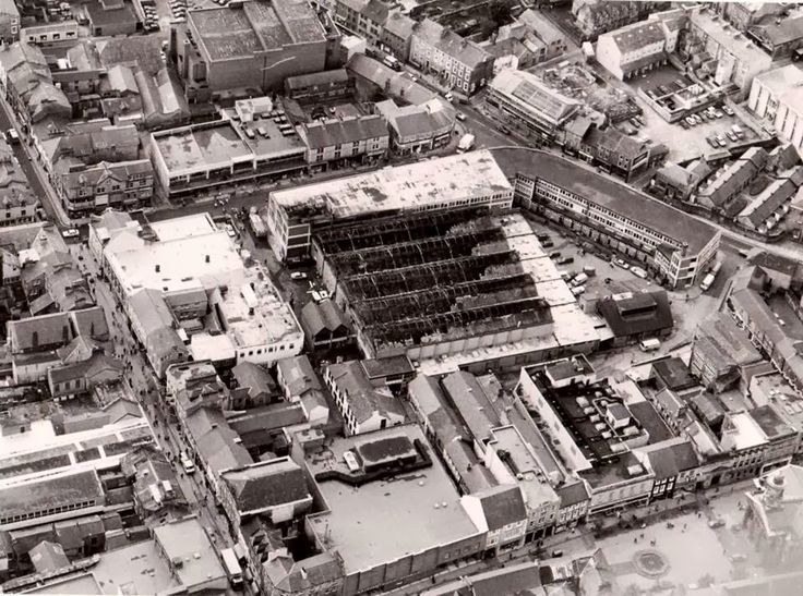 Lancaster Market Hall after the fire