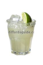 Margarita On-The-Rocks (Traditional Recipe) cocktail recipe - from diffordsguide the world's best cocktail database