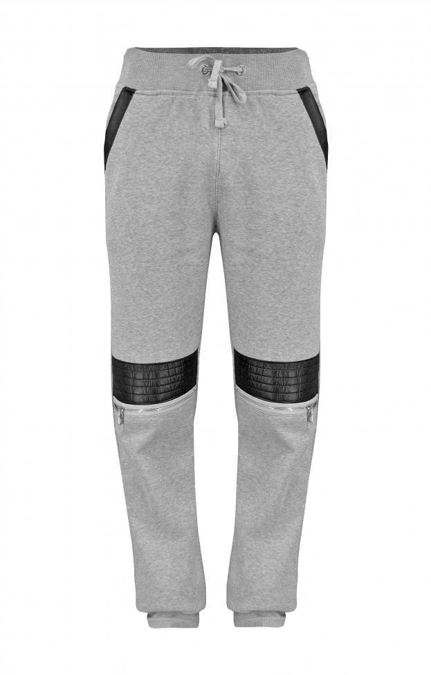Ανδρικό παντελόνι φόρμας δερματίνη | Φόρμες Αθλητικές - Sport &