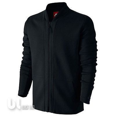 Nike Tech Fleece Herren Cardigan Herren Tech Fleece Sweatjacke Style Jacke Black