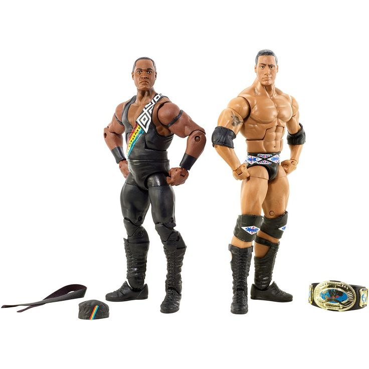 WWE Nation of Domination: The Rock & Faarooq 2-Pack - Kmart Exclusive!
