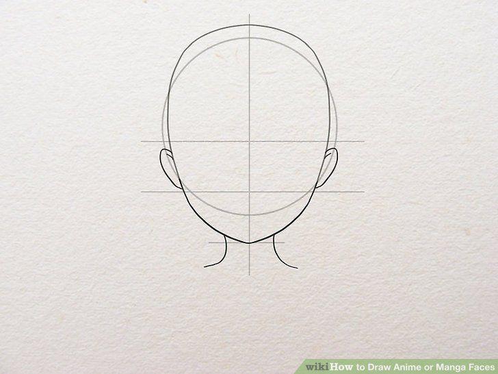Anime Face Shapes Sketch Materi Pelajaran 5 In 2020 Anime Face Shapes Anime Drawings Girl Face Drawing