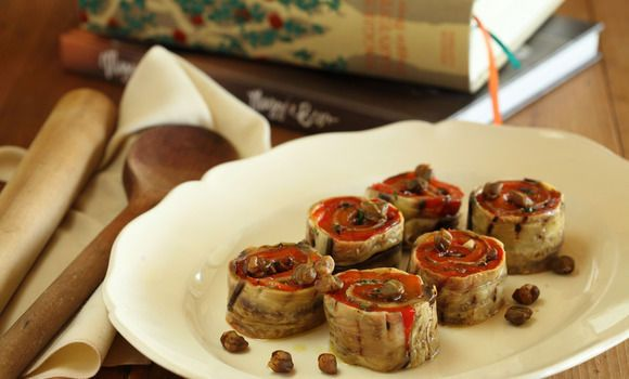 Capsicum and Eggplant Roulade - Maggie Beer