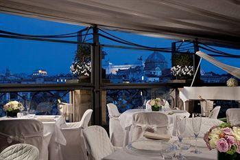 Grand Hotel De La Minerve Rome Restaurant