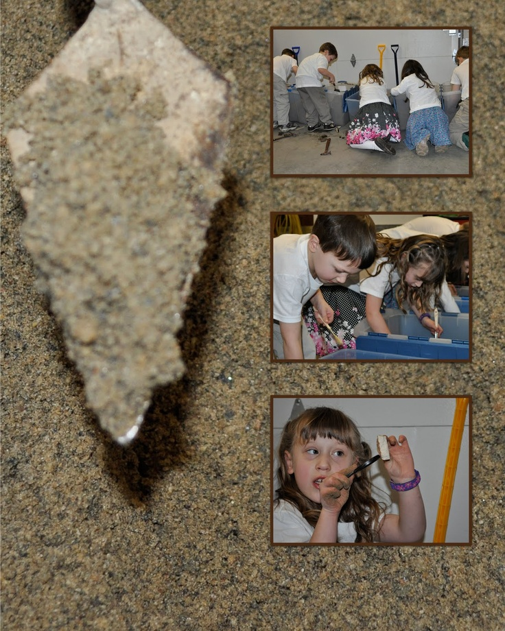 An archaeology kids party - ideas for teaching archaeology to kids