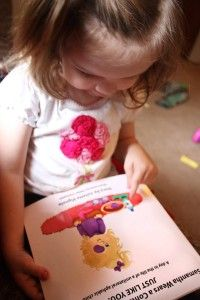 Samantha wears a contact lens and patch just like you! A great book for aphakic kids.