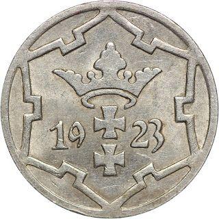 Danzig Coins 5 Pfennig 1923