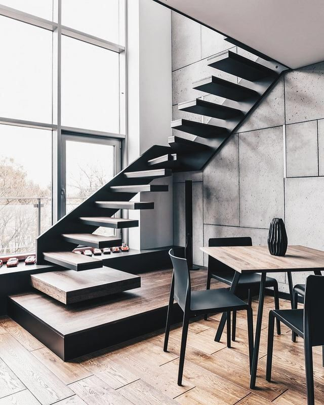 Best 25+ Floating Stairs Ideas On Pinterest | Stairs, Stair Design And  Contemporary Stairs