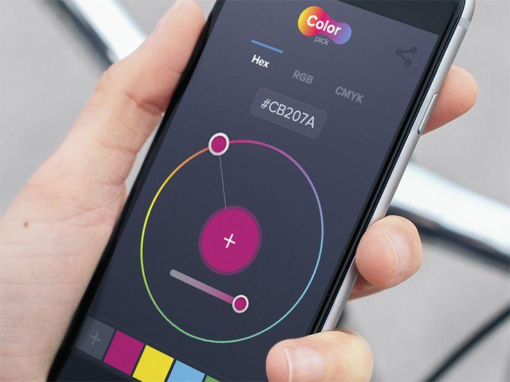 Color Picker App by Bagus Fikri